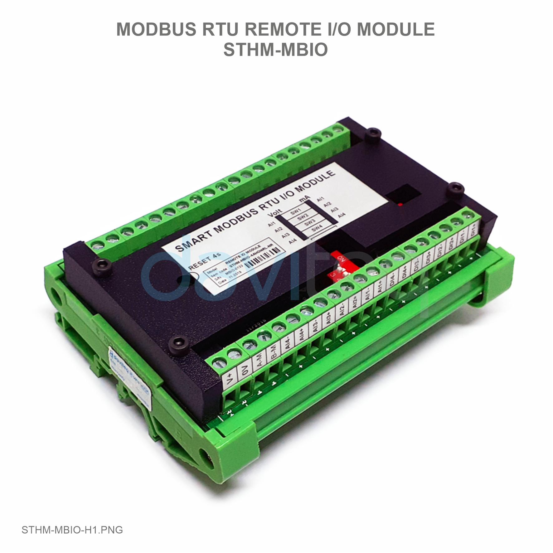 Bộ I/O mở rộng chuẩn modbusRTU