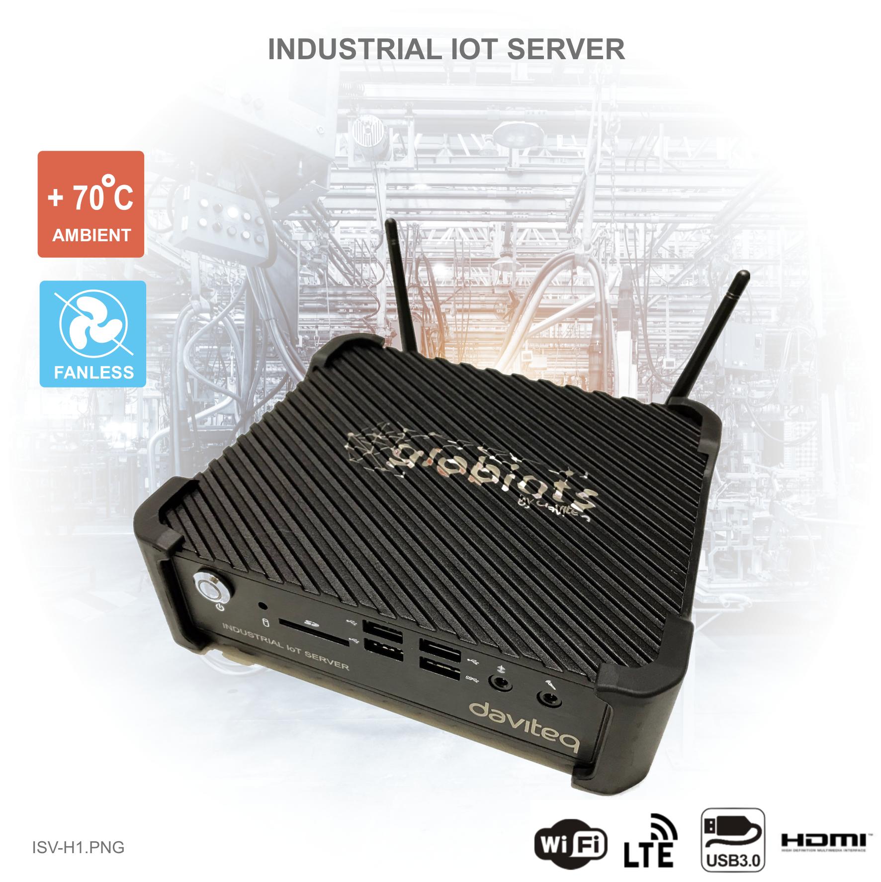 Industrial Globiots Servers