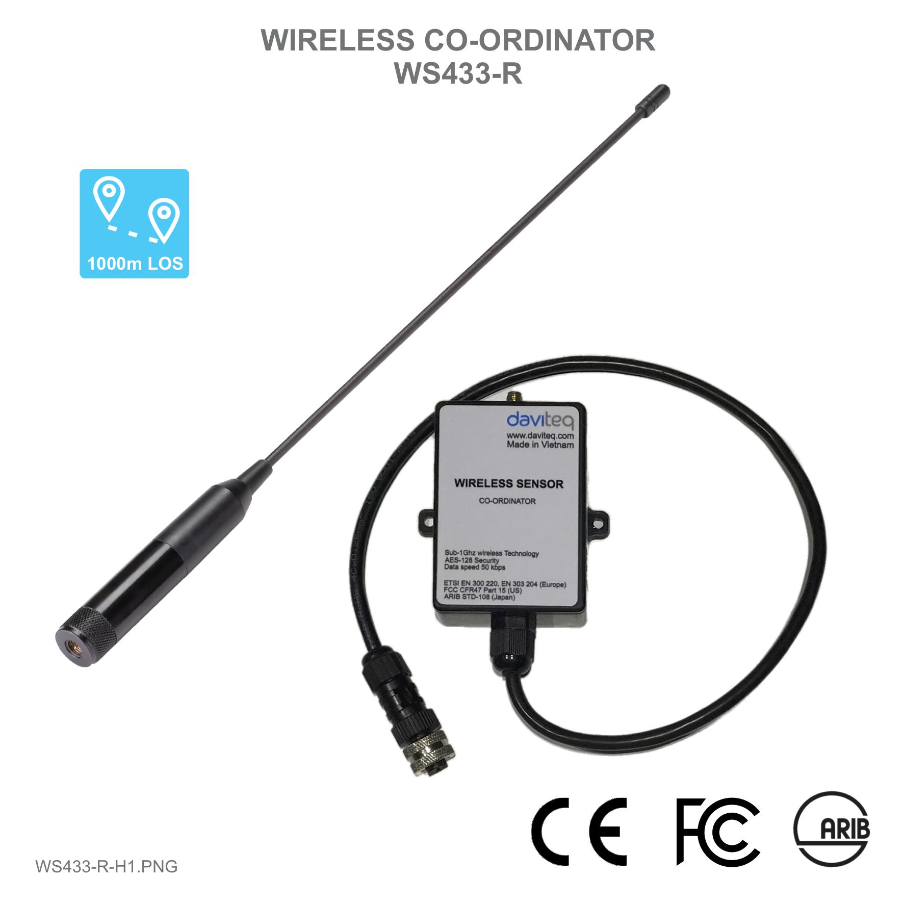 Bộ thu tín hiệu cho cảm biến không dây