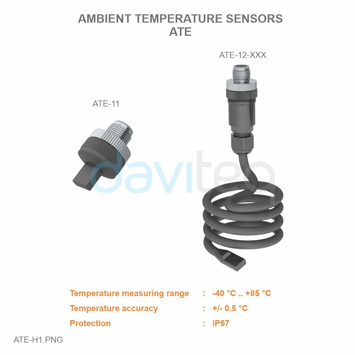Module cảm biến đo nhiệt độ môi trường