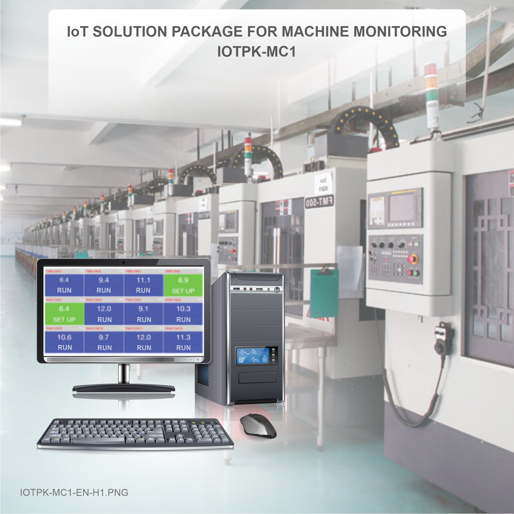 IoT SOLUTION PACKAGE FOR MACHINE MONITORING