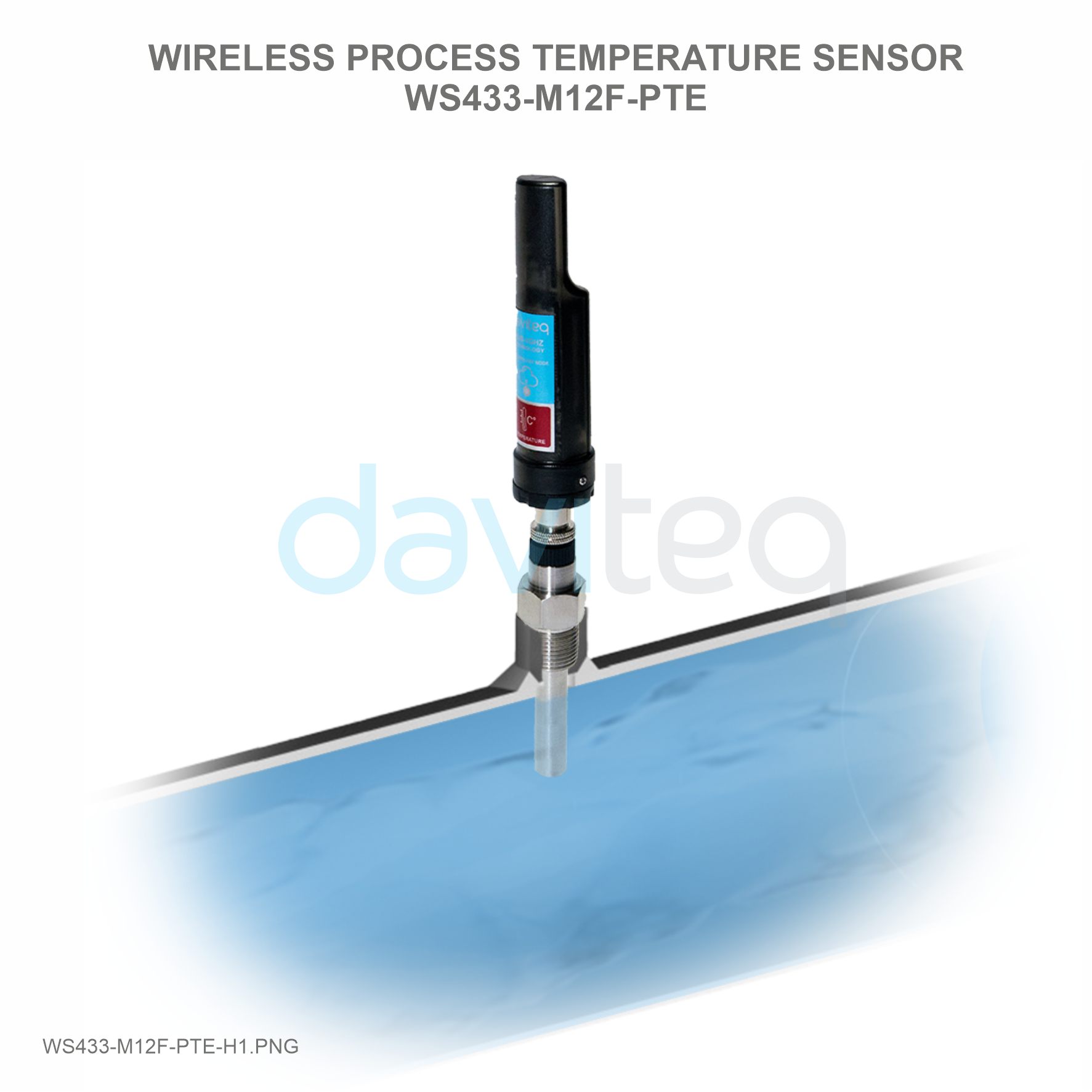 Wireless Process Temperature Sensor