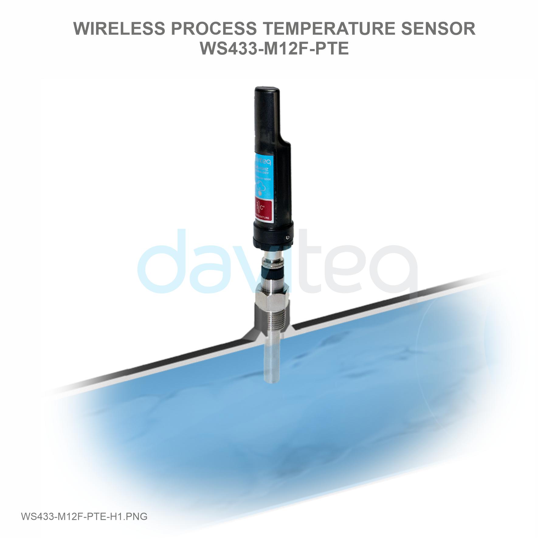 Cảm biến không dây đo nhiệt độ Process