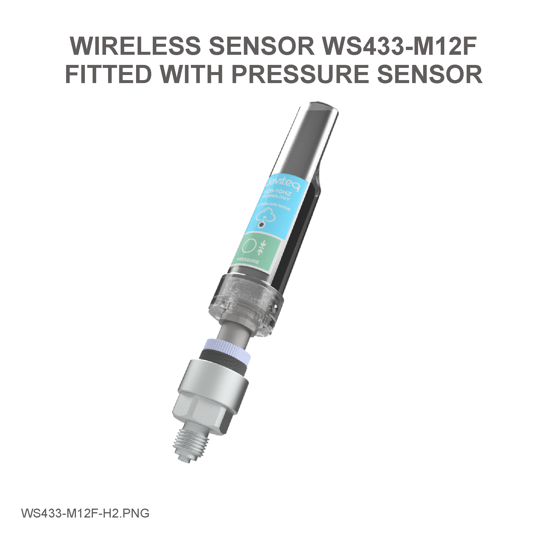 Wireless Process Pressure Sensor